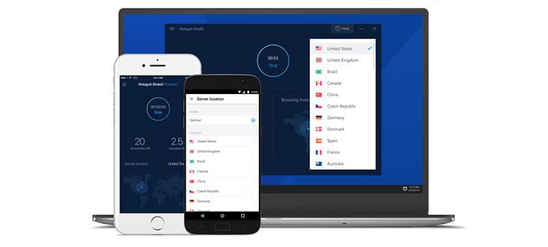 Hotspot Shield apps