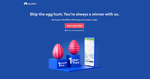 NordVPN Easter Promotion