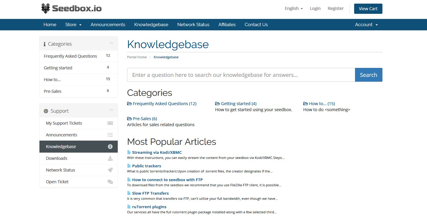 Seedbox.io knowledgebase