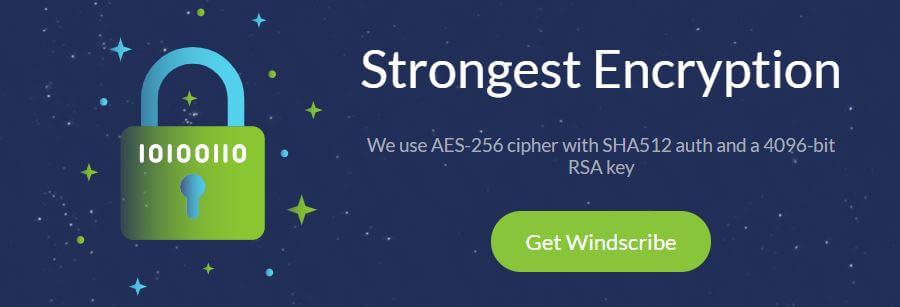 Windscribe Encryption