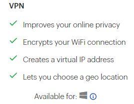 Malwarebytes VPN Device Supported