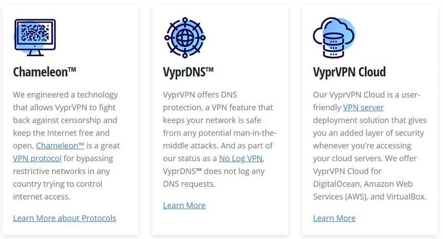VyprVPN Security Tools