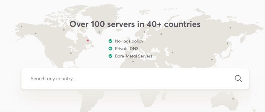 WeVPN Server Network