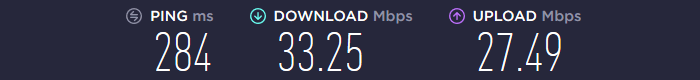 WeVPN Speedtest Asia