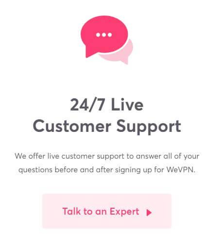 WeVPN contact 2