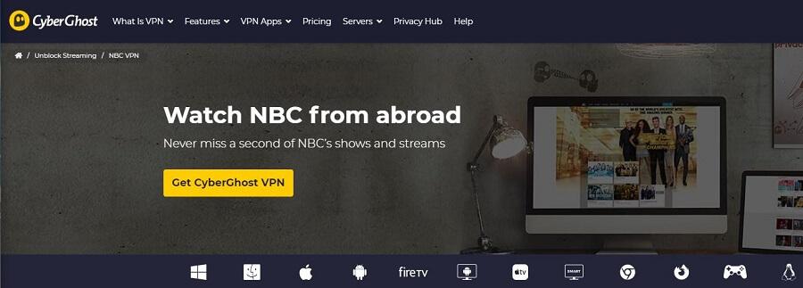 CyberGhost NBC