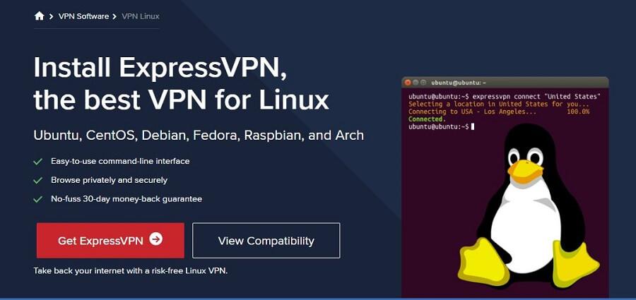 ExpressVPN Linux