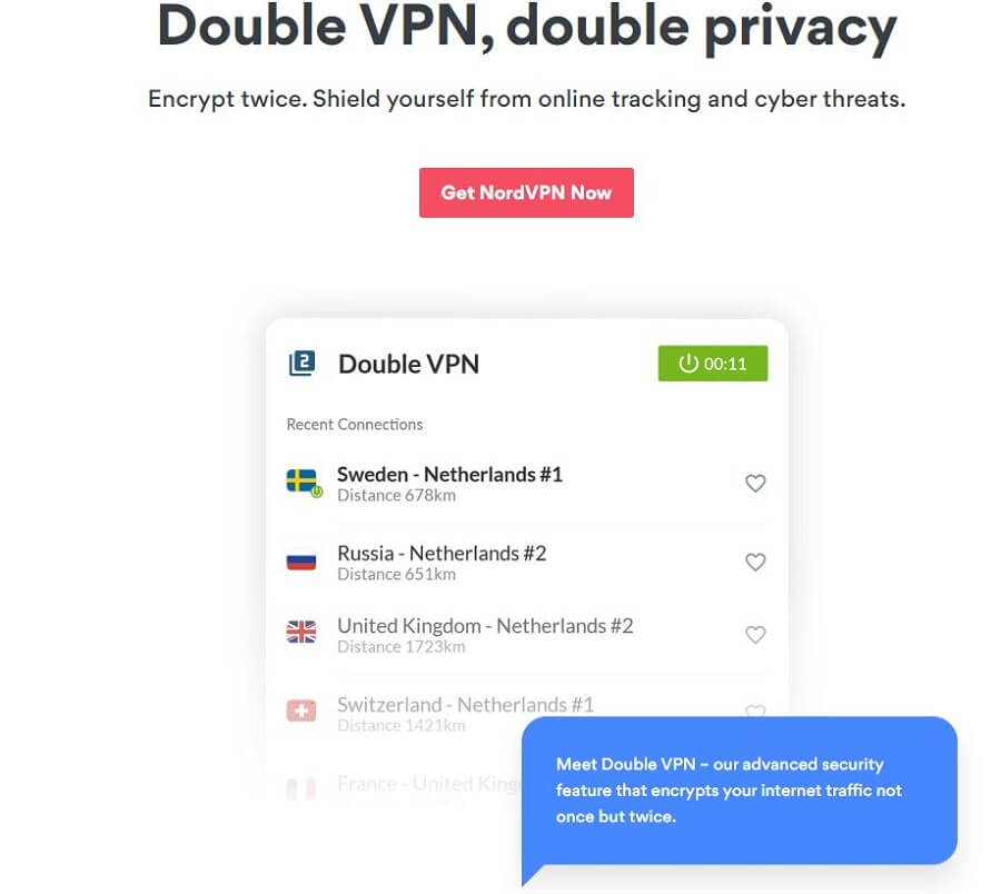 NordVPN Double VPN