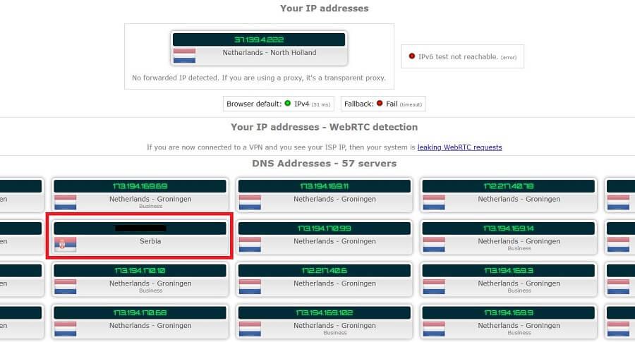 Proxy Master VPN IP Leak
