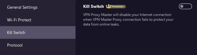 Proxy Master VPN Kill Switch
