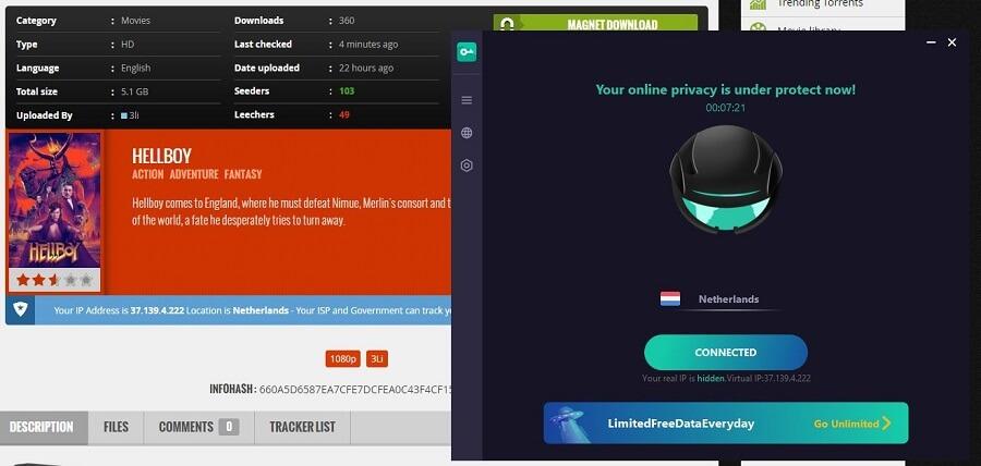 Proxy Master VPN Torrenting