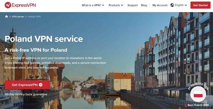 ExpressVPN Poland