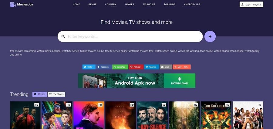 MoviesJoy Best Alternative Flixtor