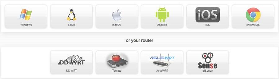 AirVPN Devices