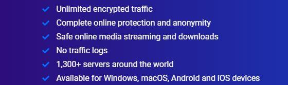 Bitdefender VPN Security Features