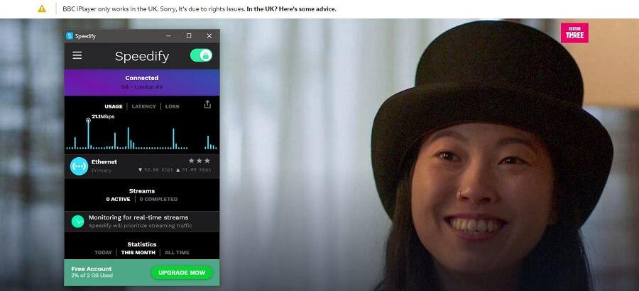 Speedify VPN BBC iPlayer