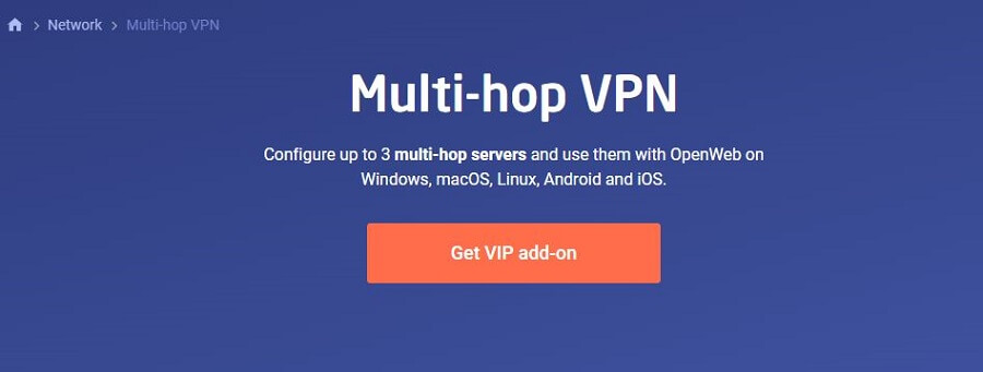 Astrill VPN Multi Hop