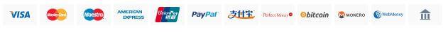 Astrill VPN Payment Methods