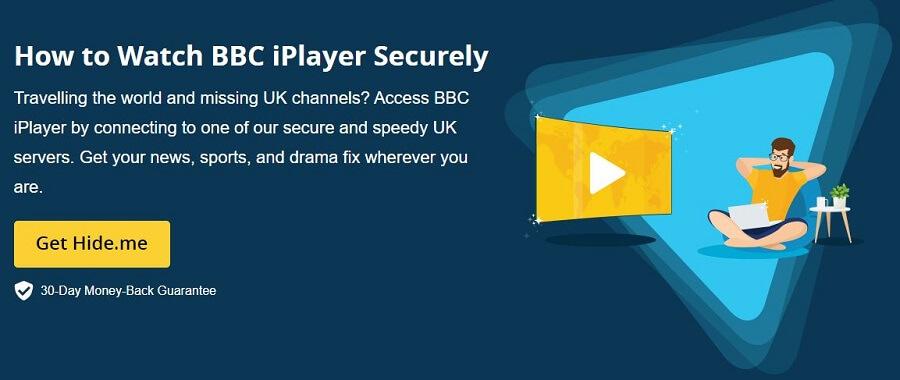 Hide.me BBC iPlayer