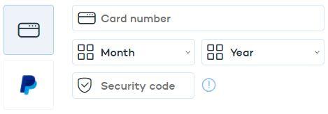 Panda VPN Payment Methods