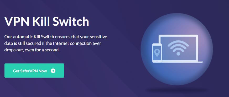 SaferVPN Kill Switch
