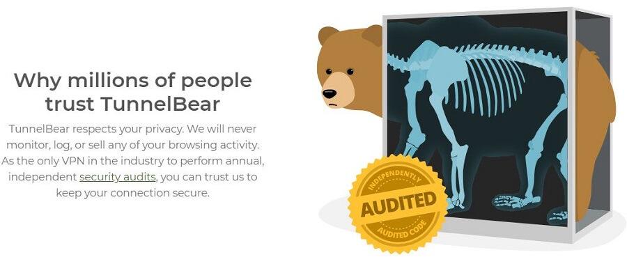 TunnelBear Audit