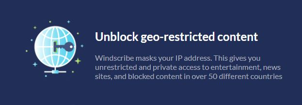 Windscribe Censorship