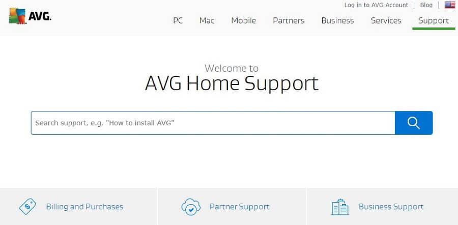 AVG Secure VPN Support