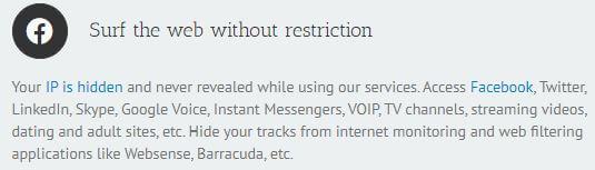 Ace VPN Censorship