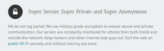 Ace VPN Security