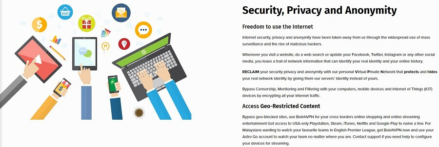 BolehVPN Security