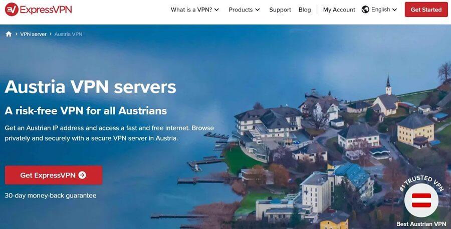 ExpressVPN Austria