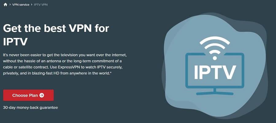 ExpressVPN IPTV