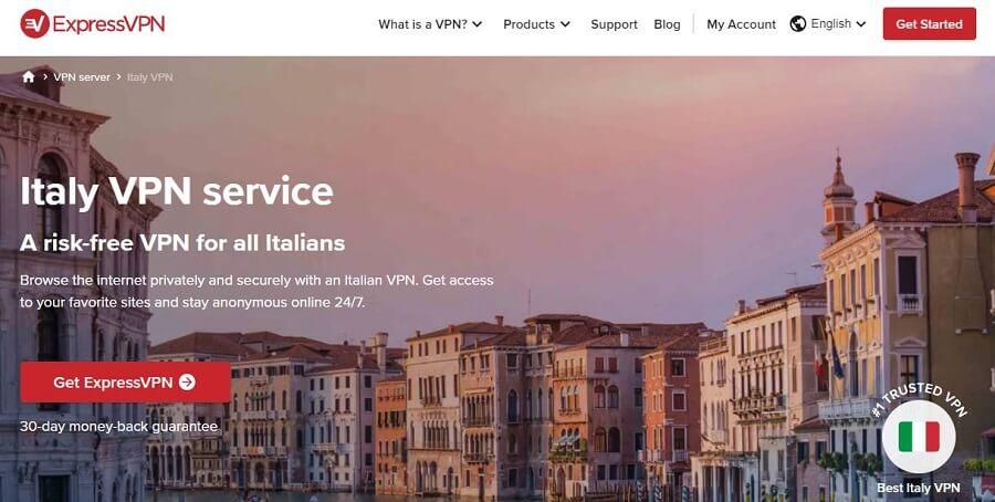 ExpressVPN Italy