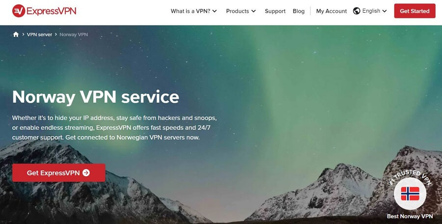 ExpressVPN Norway