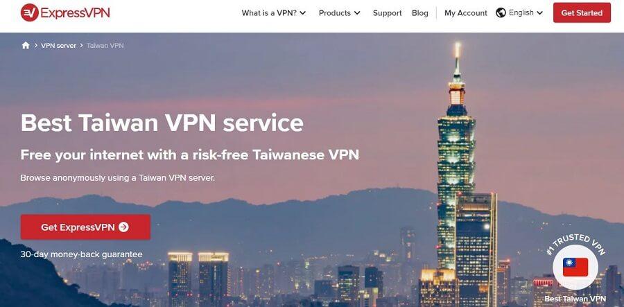 ExpressVPN Taiwan
