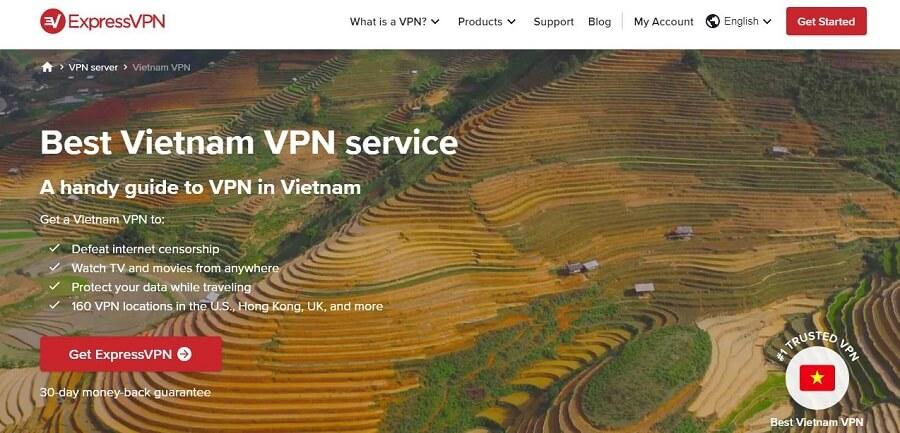 ExpressVPN Vietnam