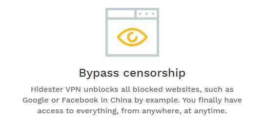Hidester Censorship