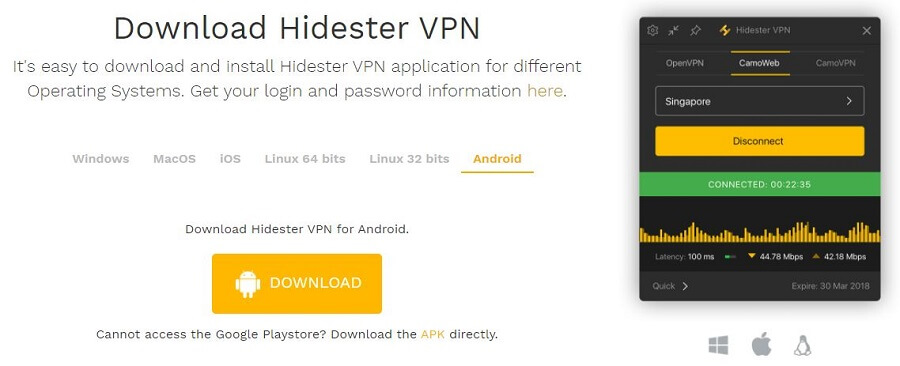 Hidester Devices