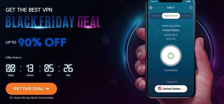 Ivacy VPN Black Friday Deal 2021