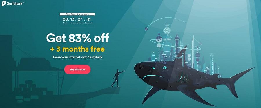 Surfshark Black Friday Deal 2021