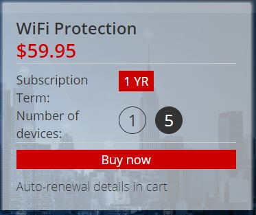 Trend Micro VPN Pricing
