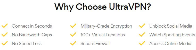 UltraVPN Why Choose