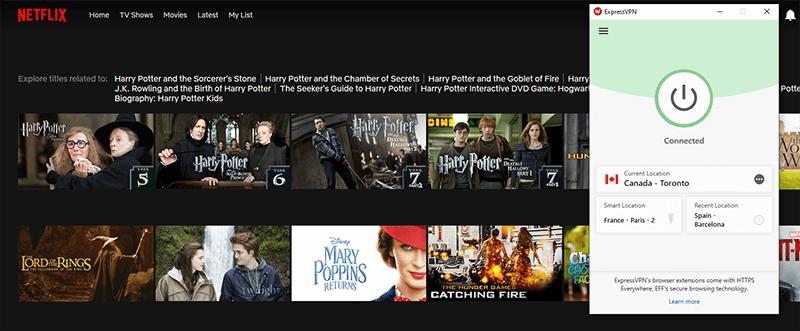 Harry Potter Movies Netflix