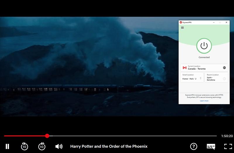 Harry Potter on Netflix