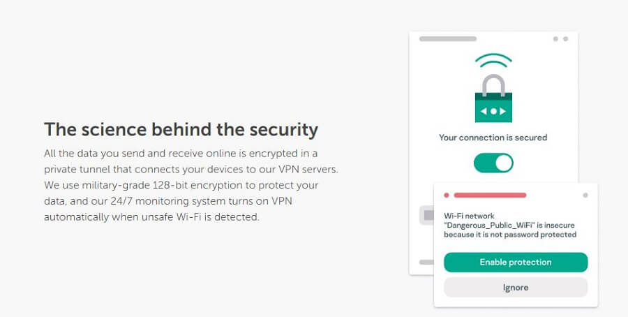 Kaspersky VPN Encryption