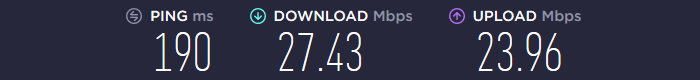 Proxy Master VPN Speedtest US