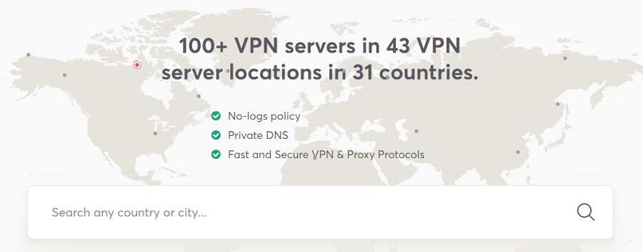 WeVPN Servers 2021