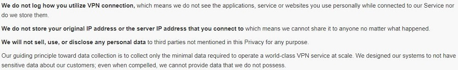 X-VPN Privacy Policy Updated 1