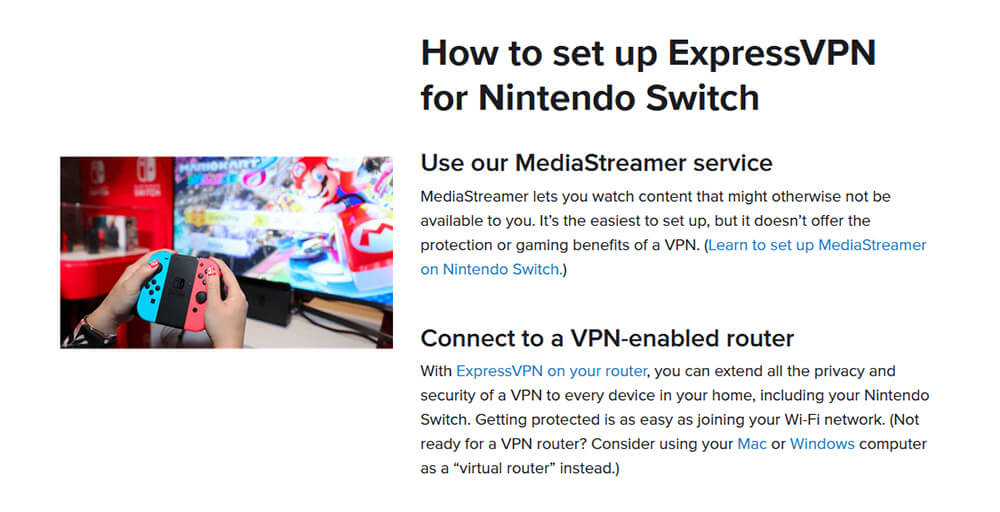 How to Install ExpressVPN Nintendo Switch